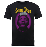 Camiseta Snoop Dogg de homem - Design: Beware of the Dog