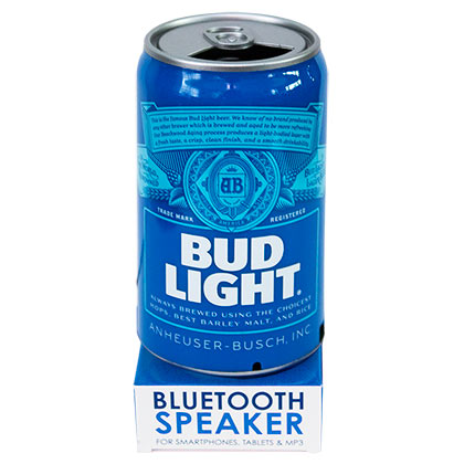 Alto falante Bluetooth Bud Light