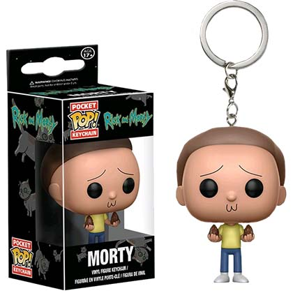 Chaveiro Rick and Morty Funko Pop