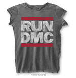 Camiseta Run DMC DMC Logo with Burn Out Finishing