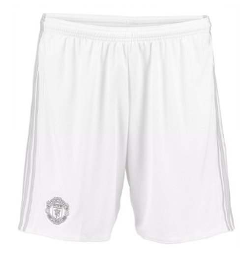 Shorts Manchester United FC 2017-2018 Third (Branco)