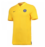 Pólo Paris Saint-Germain 2017-2018 (Amarelo)