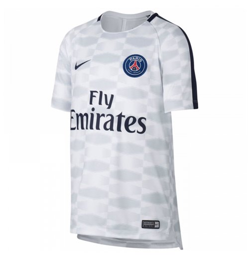 Camiseta Paris Saint-Germain 2017-2018 (Branco)