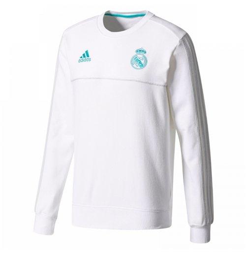 Compra Moletom Real Madrid 2017-2018 (Branco) Original f0cc55cda6787
