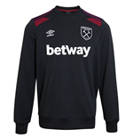 Moletom West Ham United 2017-2018 (Preto)