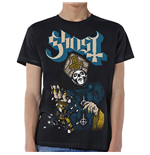 Camiseta Ghost de homem - Design: Papa of the World