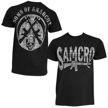 Camiseta Sons of Anarchy Rifle