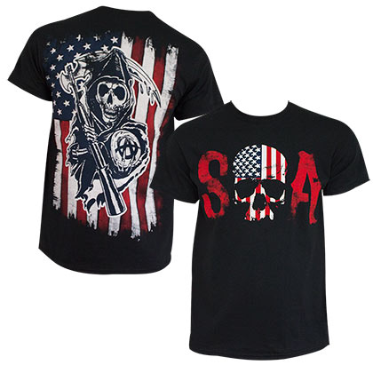 Camiseta Sons of Anarchy Patriotic