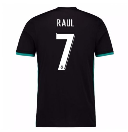 Camiseta 2017/18 Real Madrid 2017-2018 Away (Raul 7)