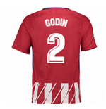 Camiseta 2017/18 Atlético Madrid 2017-2018 Home (Godin 2)