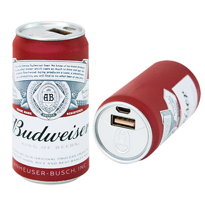 Powerbank Budweiser