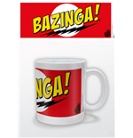 Caneca Big Bang Theory - Bazinga Red