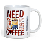 Caneca Gru, meu malvado favorito - Minions - Need Coffee