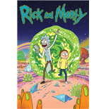 Póster Rick and Morty - Portal - 61X91,5 Cm