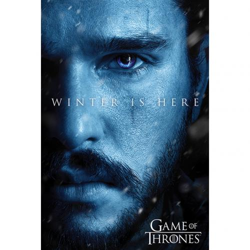Póster Jogo de Poder Soberano (Game of Thrones) Jon Snow