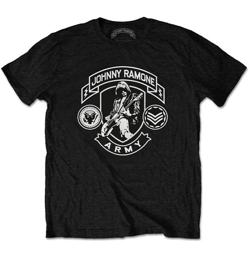 Camiseta Ramones Johnny Ramone Army Logo