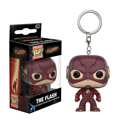 Chaveiro Flash TV Mini Funko