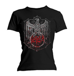 Camiseta Slayer de mulher - Design: Bloody Shield
