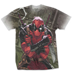 Camiseta Marvel Superheroes Deadpool Cash