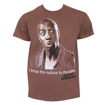 Camiseta Curb Your Enthusiasm de homem