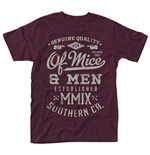 Camiseta Of Mice and Men 273240