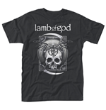 Camiseta Lamb of God Sickle Skull