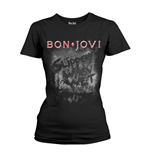 Camiseta Bon Jovi Slippery When Wet Album