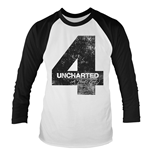 Camiseta Uncharted 4 Distressed