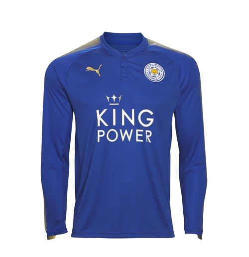 Compra Camiseta manga longa Leicester City F.C. 2017-2018 Home 6694b0f37d497