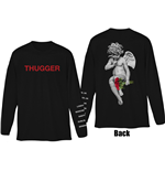 Camiseta manga longa Young Thug de homem - Design: Thugger Angel