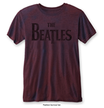 Camiseta Beatles de homem - Design: Drop T Logo