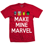 Camiseta Marvel Superheroes 274316