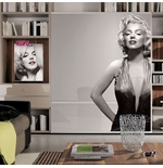 Vinil decorativo para parede Marilyn Monroe 274638