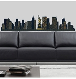 Vinil decorativo para parede New York 274644