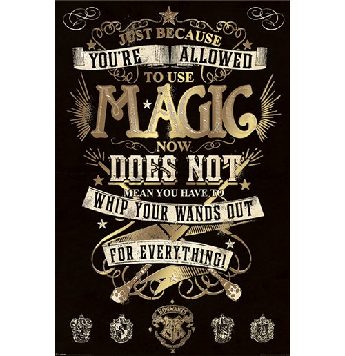 Poster Harry Potter 274700