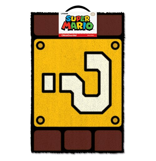 Compra Tapete Super Mario - Question Mark Block Original