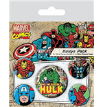 Pack Chapinhas Marvel Retro -Hulk