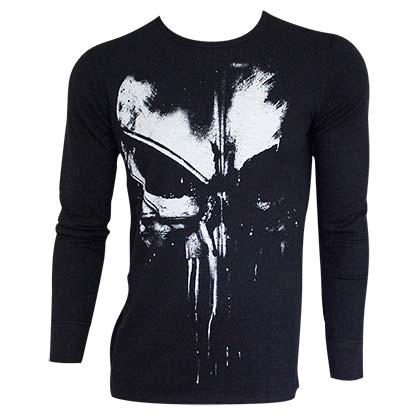 Camiseta manga comprida The punisher 276346