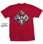 Camiseta Marvel Superheroes 276622