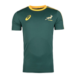 Camiseta África do Sul Rugby 2017-2018 Home (Verde)