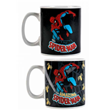 Marvel Comics Caneca sensitiva ao calor Spider-Man