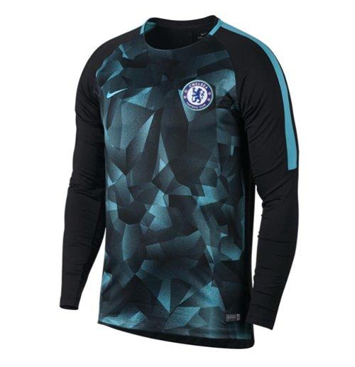 5b59189eb2fab Camiseta Chelsea 2017-2018 (Preto) Original  Compra Online em Oferta