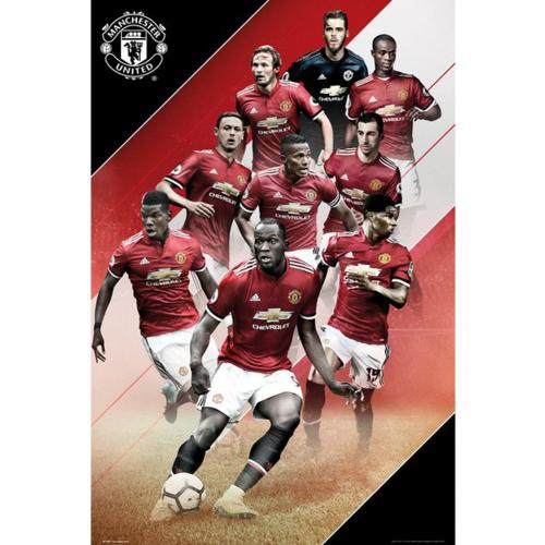 Póster Manchester United FC Players 41