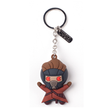 Chaveiro Marvel Super heróis - Peter Quill Character 3D