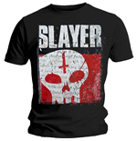 Camiseta Slayer de homem - Design: Undisputed Attitude Skull