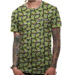 Camiseta Rick and Morty - Repeat Pattern