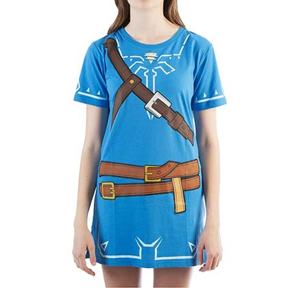 Vestido/Fantasia The Legend of Zelda Breath Of The Wild de mulher