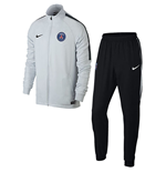 Conjunto esportivo Paris Saint-Germain 2017-2018 (Branco)