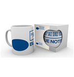 Caneca  Blue Note Records - Logo
