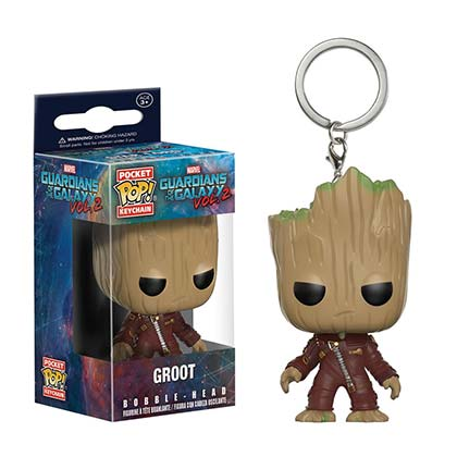 Chaveiro Guardians of the Galaxy Groot Funko Pop